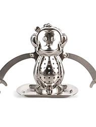 Creative Stainless Steel Monkey Tea Filter