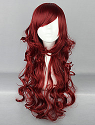 Lolita Wigs Sweet Lolita Lolita Long Red Lolita Wig 70 CM Cosplay Wigs Solid Wig For Women