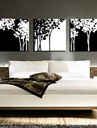 Stretched Canvas Art Botanical Braches Set of 3