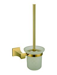 antigo de parede titular escova de vaso sanitário - ti-pvd acabamento