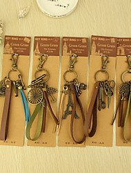 Nice Keyring Favors - Set of 6 (Mixed Design,Mixed Color)