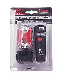 Radlichter , Frontleuchten / Rückleuchten / Vorderlicht + Rücklicht-Kits / Radlichter - 1 Modus Lumen AA BatterieRadsport/Fahhrad /