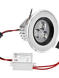 Затемнения 3W 1-210LM 5800-6300K Белый свет природных светодиодные потолочные лампы (220)