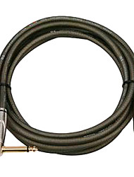 DT - (DFSA380-6H) 6 Meters Guitar Cable with Plastic Plug (Soft Flexible Low attenuation Micro-bubbles)