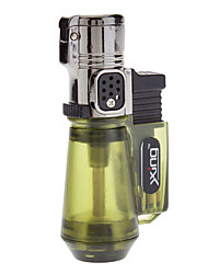 Cute Rechargeable Gas Lighter (Black,Yellow,Green,Blue,Purple)