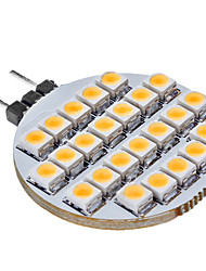LED à Double Broches Blanc Chaud G4 1W 25 80 LM DC 12 V