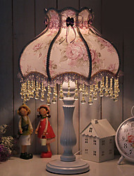 European Style Rustic Table Light With Beads