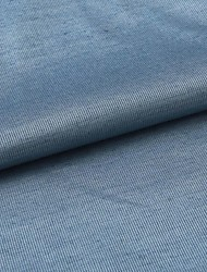"Modern Blue Solid Polyester Fabric (Fabric Weight-Medium) - Width=55"" (140 cm)"