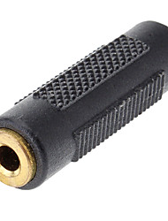 3,5 milímetros de áudio de 3,5 milímetros de áudio Masculino Adaptador Feminino