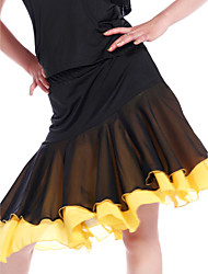 Dancewear Viscose mit Chiffon Latin Dance Rock für Damen
