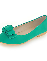 Chic Suede Flat Heel Pointy Toe With Bowknot Casual / Party / Evening Shoes (Two Colors)