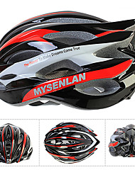 MYSENLAN PC + EPS Материал Ajustable Pro Cycling Шлема (24 Vents, разных цветов)