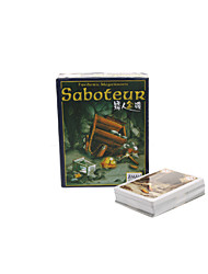 Saboteur Style Consiglio Card Game Set Toy