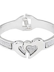 Simple Love design lichtmetalen Dames armband (meer kleuren)