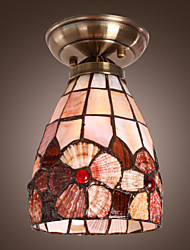 Elegant Luxury Ceiling Lamp With Floral Pattern