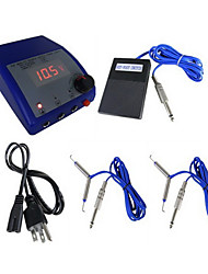 Flat LCD Dual Output Tattoo Power Supply