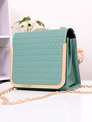 Мода Крокодил шаблон Candy цвет цепь через плечо сумка