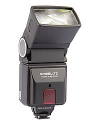 emoblitz ds328az flash automático digital para canon nikon olympus pentax
