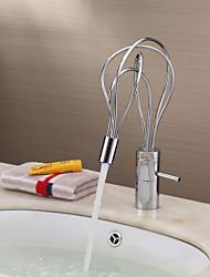 changement de couleur robinet conduit lavabo - fini chrome