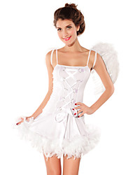 Sexy Women's Angel White Angel Costume(Pieces)