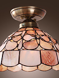 Rustic Pretty Ceiling Lamp With Floral Pattern
