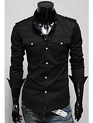 Epaulette bolso duplo Magro Shirt