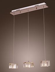 MACKINLEY - Lampadario con 3 lampadine