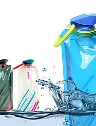 garrafa de água de dobramento protable exterior (cores sortidas)
