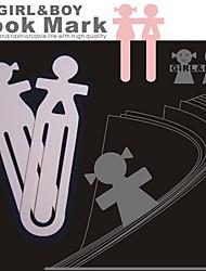 Ragazzo e ragazza Coppia Segnalibri (2 pezzi)