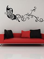 Танцы Бабочка стикер стены