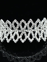 Nuptiale alliage Tiara avec strass mariage / Casques spéciales