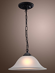Max 60W Traditional/Classic / Bowl Mini Style Bronze Pendant Lights Living Room / Bedroom / Kitchen