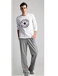 Мужская основные случайные брюки спортивные