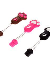 8GB Cute Dog Paw Резиновая USB Flash Drive
