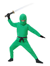 Ninja Costume vert de l'enfant