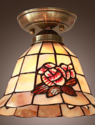 Rustic Beautiful Ceiling Lamp With Flower Design