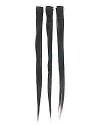 "24"" Human Hair Clip-In Staight Hair Extensions Multiple Colors Available"