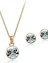 Women's Alloy Jewelry Set Crystal