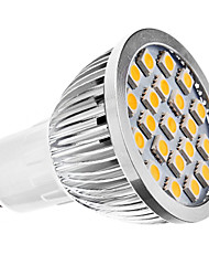 GU10 3 W 21 SMD 5050 240 LM Warm White MR16 Spot Lights AC 110-130/AC 220-240 V