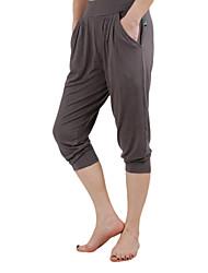 Dancewear Viscose Yoga Bottom For Ladies(More Colors)
