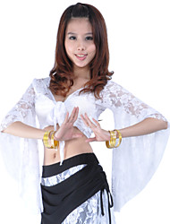 Dancewear Lace With Bowknot Belly Dance Top for Ladies(More Colors)