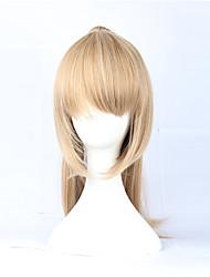 Ouro Rabo 49 centímetros Escola Lolita peruca