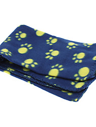 Cat Dog Cleaning Pet Blankets Soft Random Color Plush