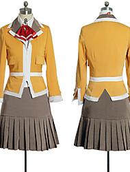 Uniforme meus Hime Fuuka Academy manga comprida escola de meninas