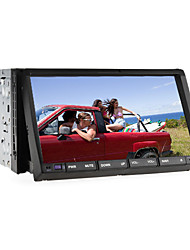 "2 din 7 ""LCD touch screen in het dashboard auto DVD speler met bluetooth, rds, ipod-ingang, stereo radio, atv"