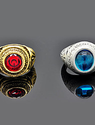 Jewelry Inspired by Fate/stay night Sakura Matou Anime Cosplay Accessories Ring Red / Blue / Golden / Silver Alloy / Artificial Gemstones