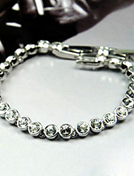 Exquisite Alloy With Rhinestone Bracelet
