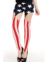 Patriotique jarretelles Sexy Legging