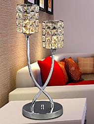 cristal k9 lámpara espléndida mesa de luz 2 220-240v