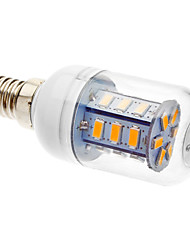 E14 4 W 24 SMD 5730 330-380 LM Warm White Corn Bulbs AC 220-240 V